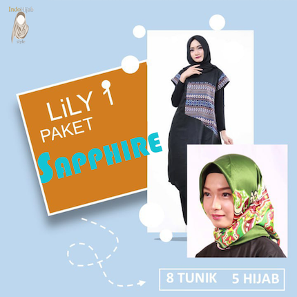 Paket SAMPLE 1 LILY 1 SAPPHIRE