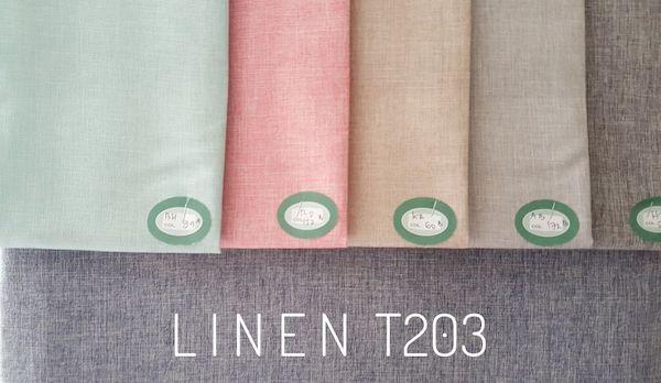 Bahan Kain Baju Muslim Linen T203