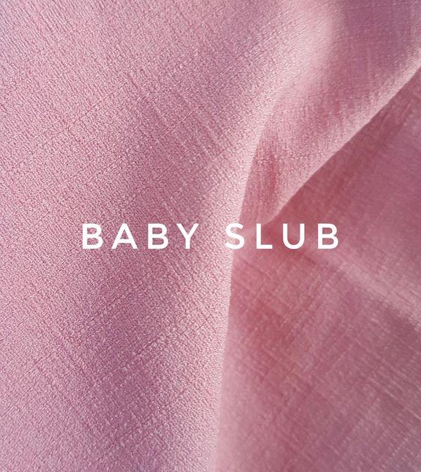 Bahan Kain Baju Muslim Baby Slub